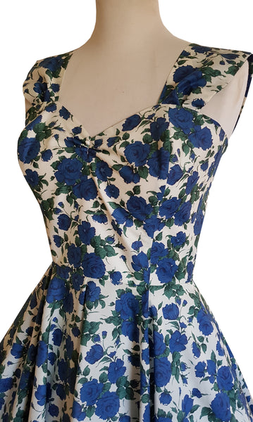 Blue Rose Liberty Dress