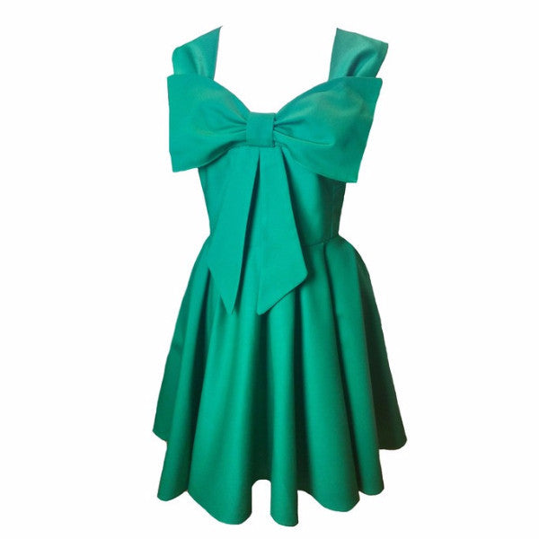 Emerald Green 50s Style Bridesmaid Dresses by Fullilove Designs
