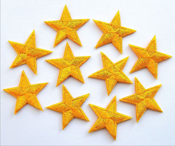 Yellow Cotton Stars | Star Dress Detail | Eurovision
