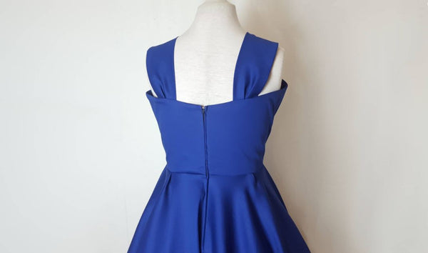 Blue 50s Swing Dress | Dress with Stars | Fullilove Designs