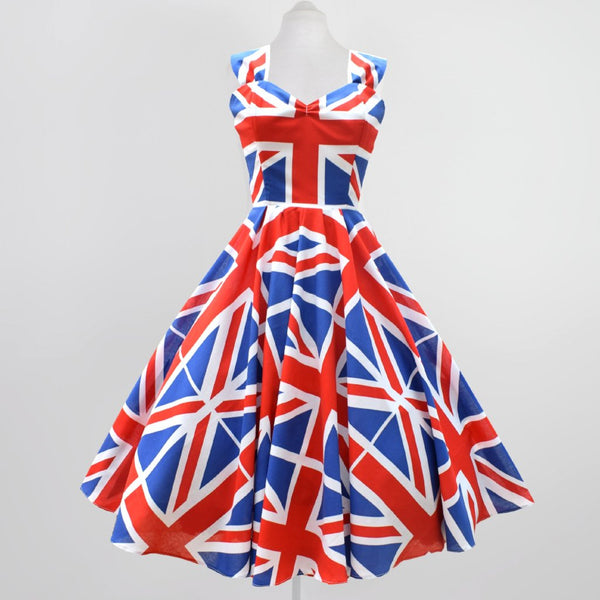 Union Jack Swing Dress