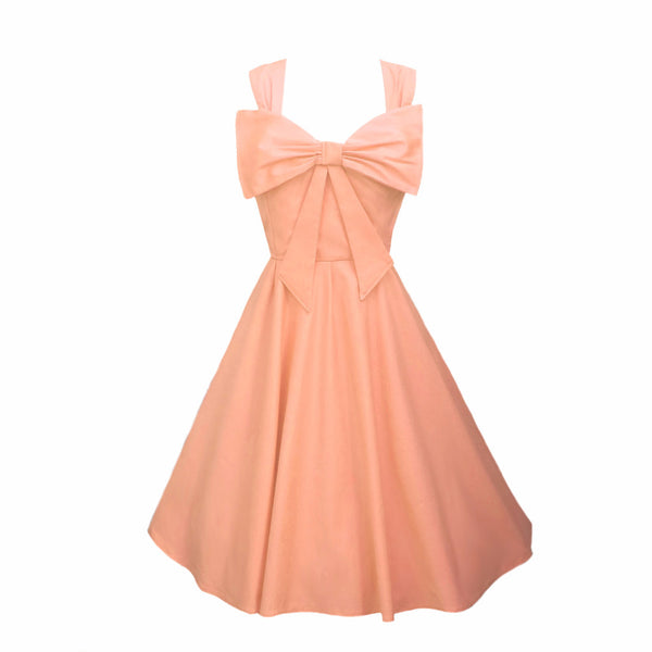 Pale Peach Bridesmaids Dress | Peach Bridesmaid Dresses UK | Fullilove Designs