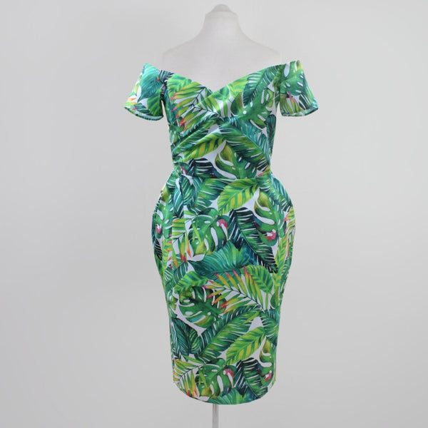Hawaiian Wrap Dress | shoulder dress | Fullilove Designs