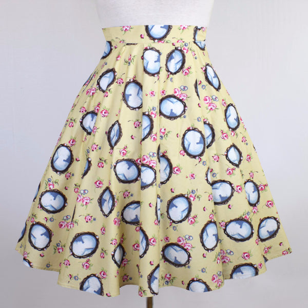 Full Circle Cameo Swing Skirt