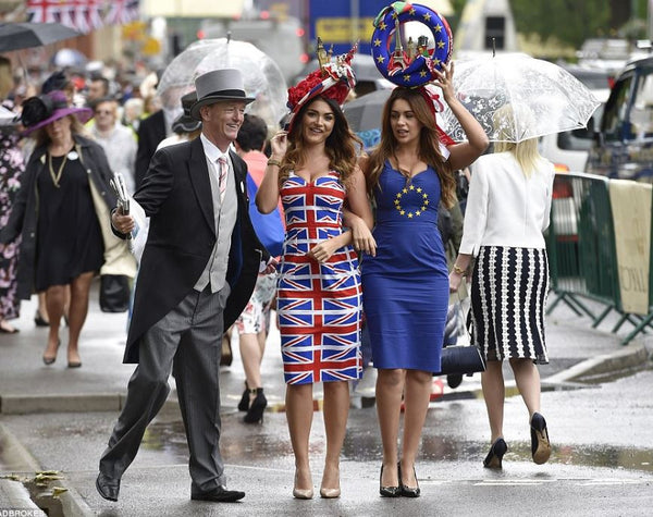 Union Jack Pencil Dress - Royal Wedding Dress