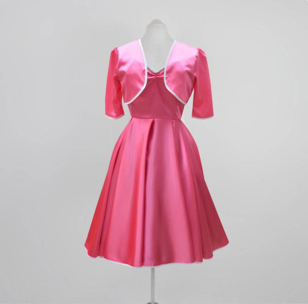 Jackie O Style 1960s Dress | Satin Swing dress | Fullilove Designs