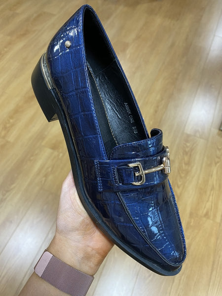 Zanni Ammik Cobalt Loafer - MJ Shoes