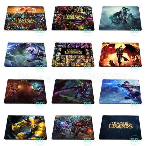 Mousepad 11 modelos diferentes League of Legends
