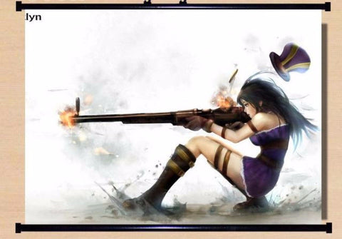 Scroll Poster Caitlyn