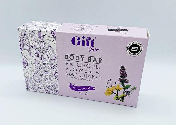 Revive Body Bar - Patchouli, May Chang, Henna & Juniper.