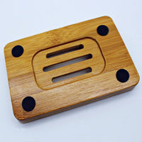 Bamboo Soap Dish - Pack of 2