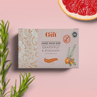 Hand Wash Bar - Antibacterial Grapefruit Peel & Rosemary