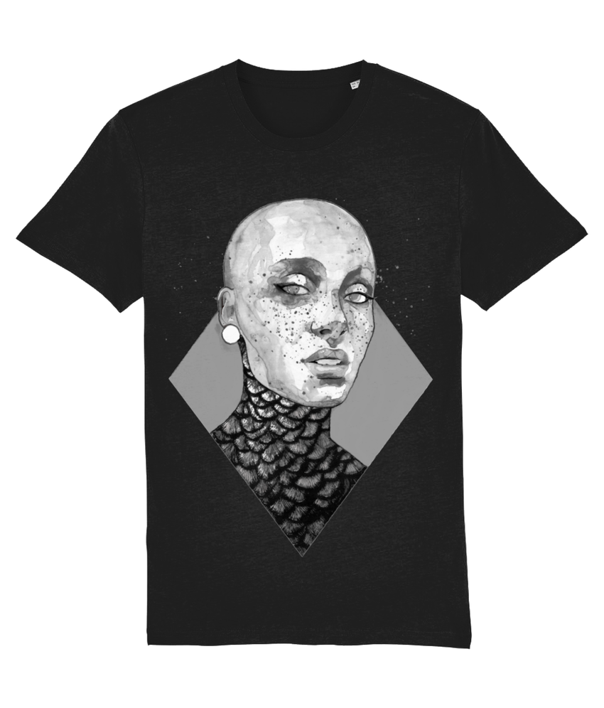 Warrior B+W Organic T-Shirt