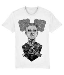 Monster B+W Organic T-Shirt