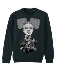 Monster B+W Organic Sweatshirt