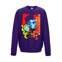 Neon King Sweatshirt