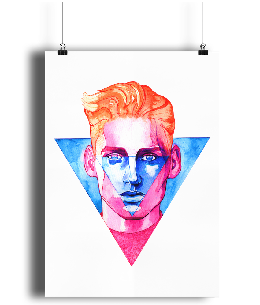 My Favourite Shape Art Print