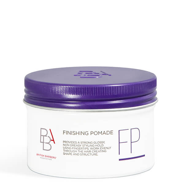 BRITISH BARBERS' ASSOCIATION HAIR FINISHING POMADE 100ML