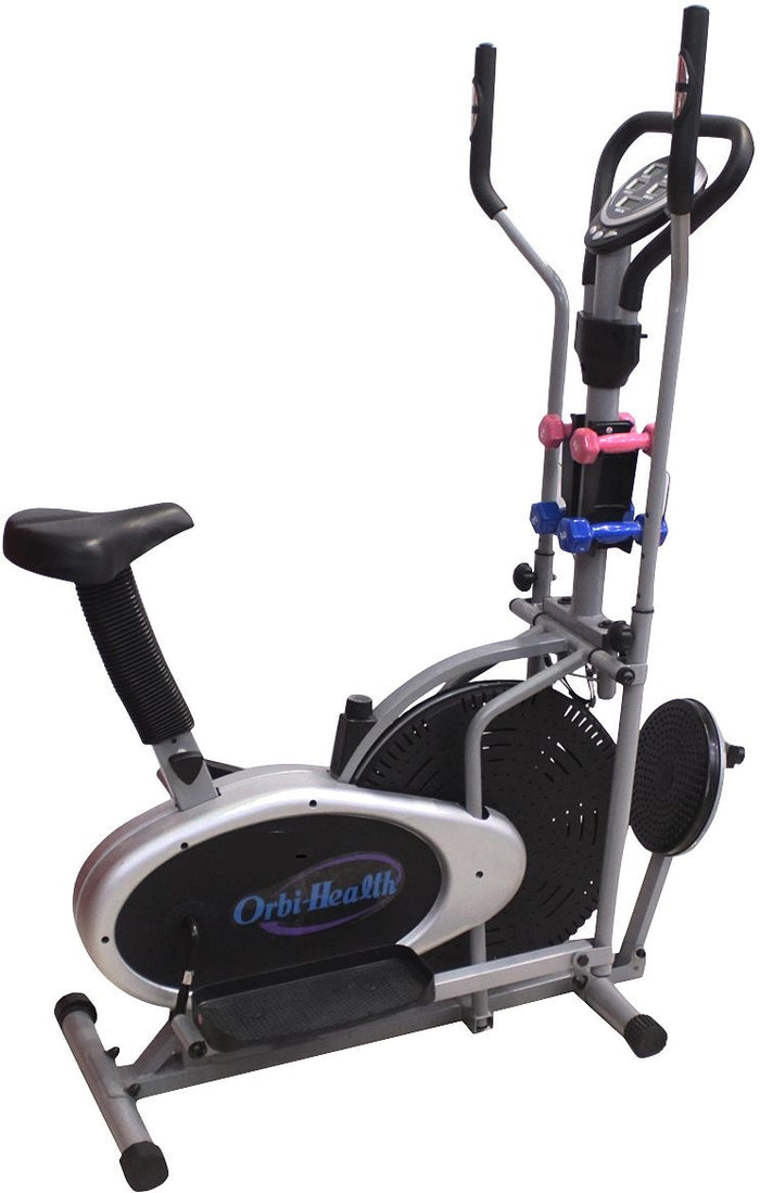 MF HOME GYM 4 IN 1 MULTI OPTION ORBITRACK EXERCISE BIKE
