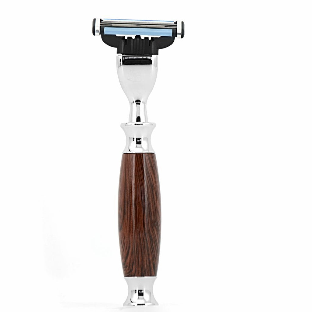 MANCAVE UAE KNIGHTSBRIDGE 3 BLADE RAZOR - BROWN