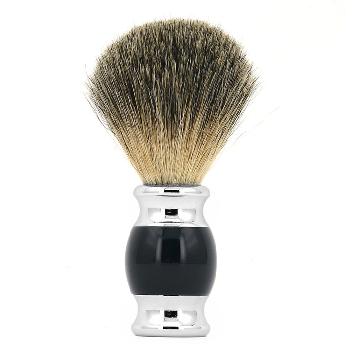 MANCAVE UAE KNIGHTSBRIDGE LUXURY SHAVING BRUSH - BLACK