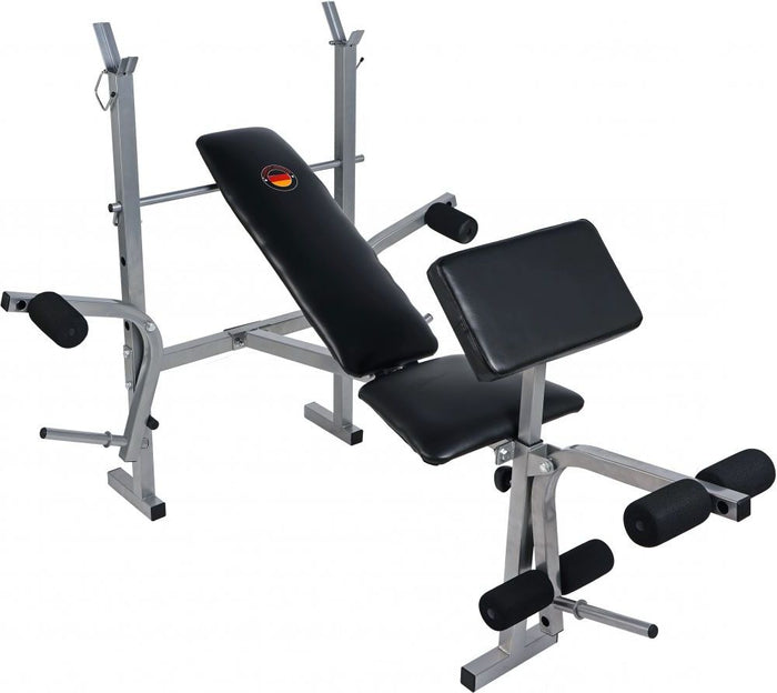 MF HOME GYM PROFESSIONAL DELUXE WEIGHT LIFTING BENCH