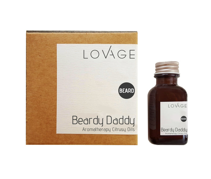 CITRUSY BEARD OIL- BEARDY DADDY