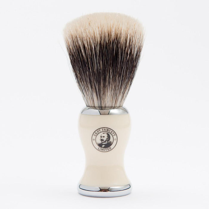CAPTAIN FAWCETT - BEST' BADGER SHAVING BRUSH