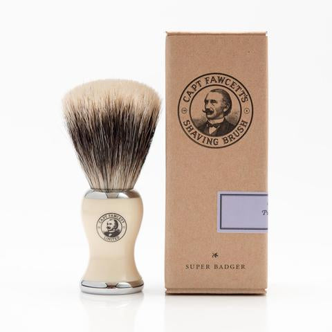 CAPTAIN FAWCETT - SUPER' BADGER SHAVING BRUSH