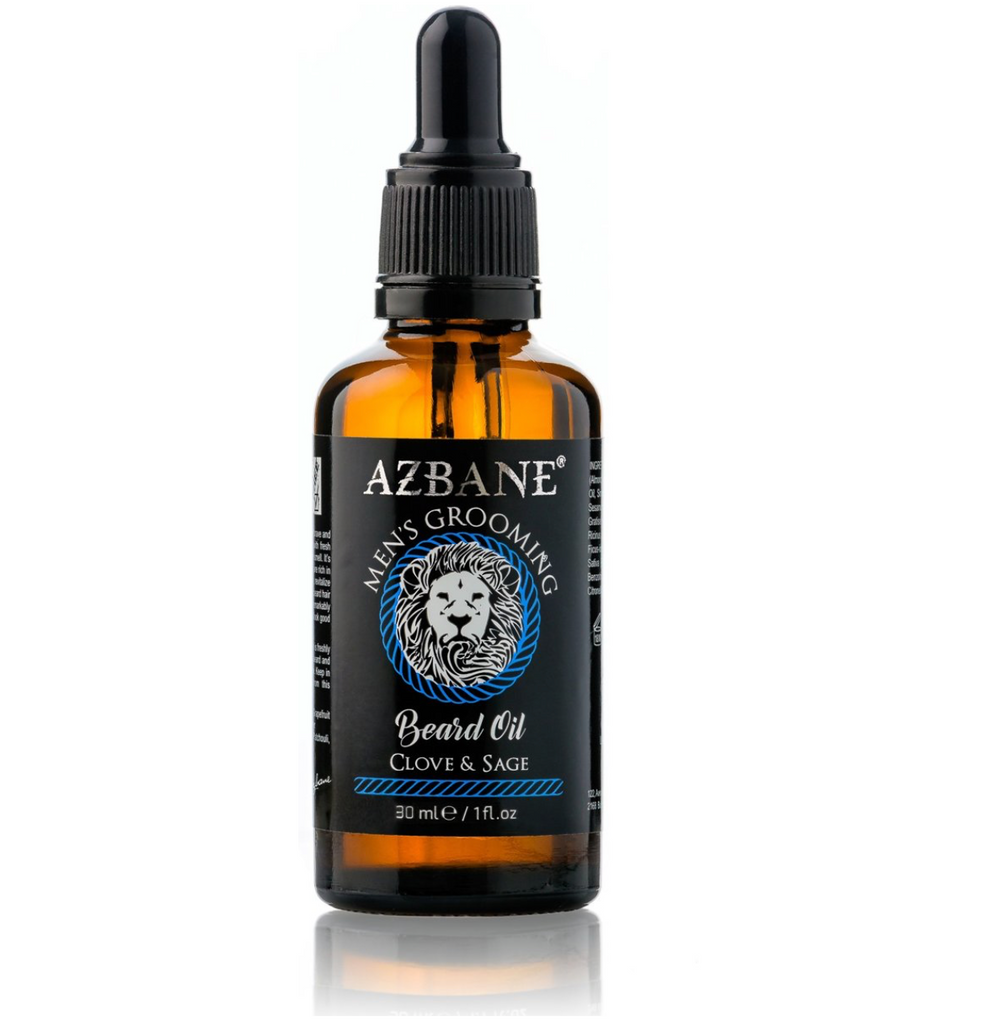AZBANE ORGANIC MOROCCAN ARGAN BEARD OIL COLLECTION (30ML)
