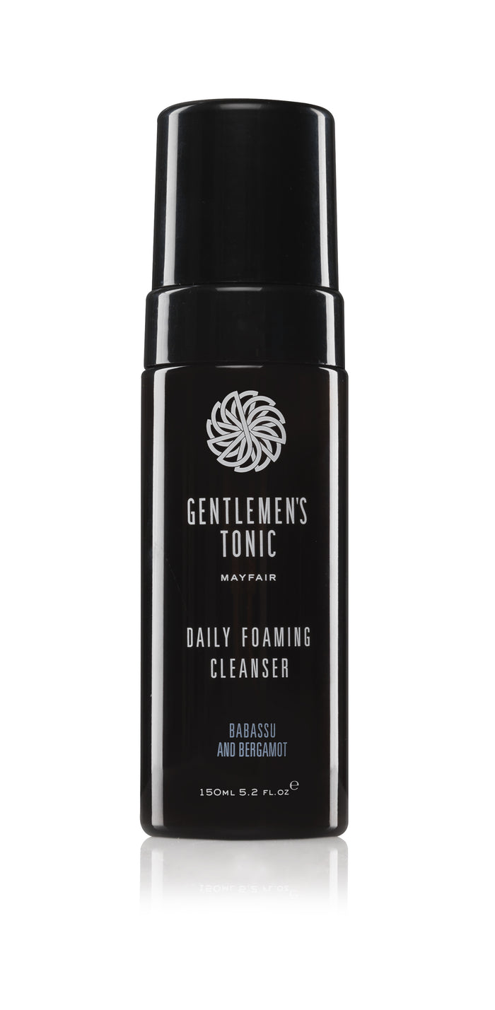 GENTLEMEN'S TONIC DAILY FOAMING FACE CLEANSER 150ML