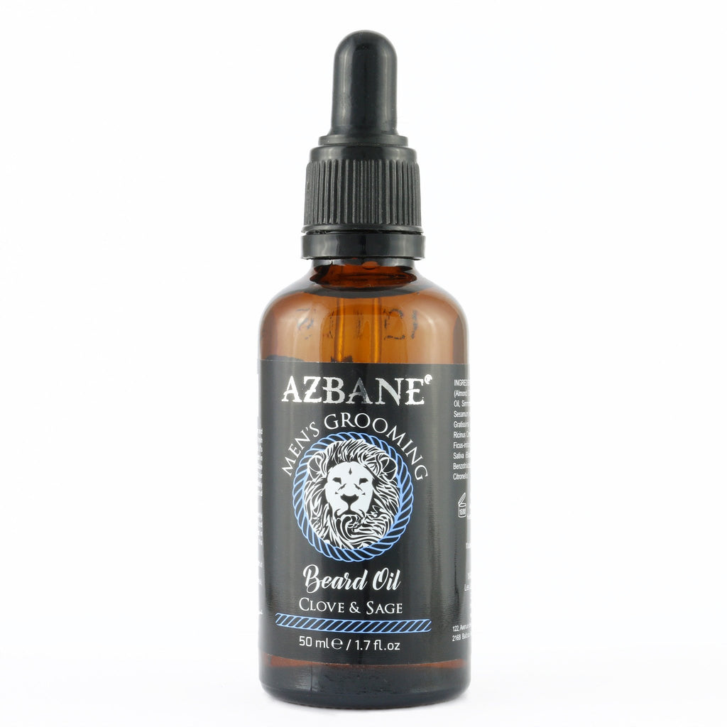 OIL CLOVE & SAGE BEARD OIL