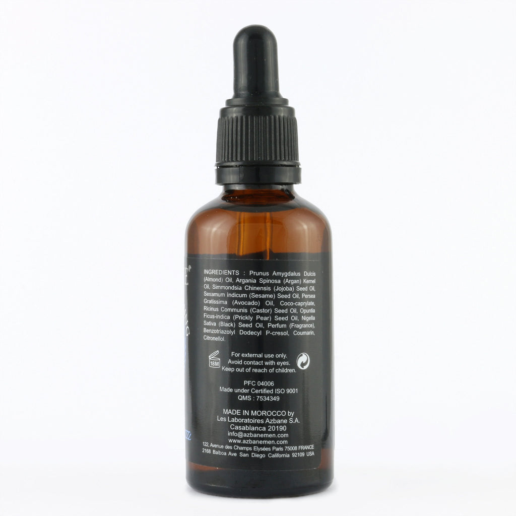 AZBANE ORGANIC OIL CLOVE & SAGE BEARD OIL (30ml)
