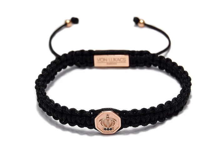 MENS LUXURY BRACELET MONARCH 925 - ROSE GOLD