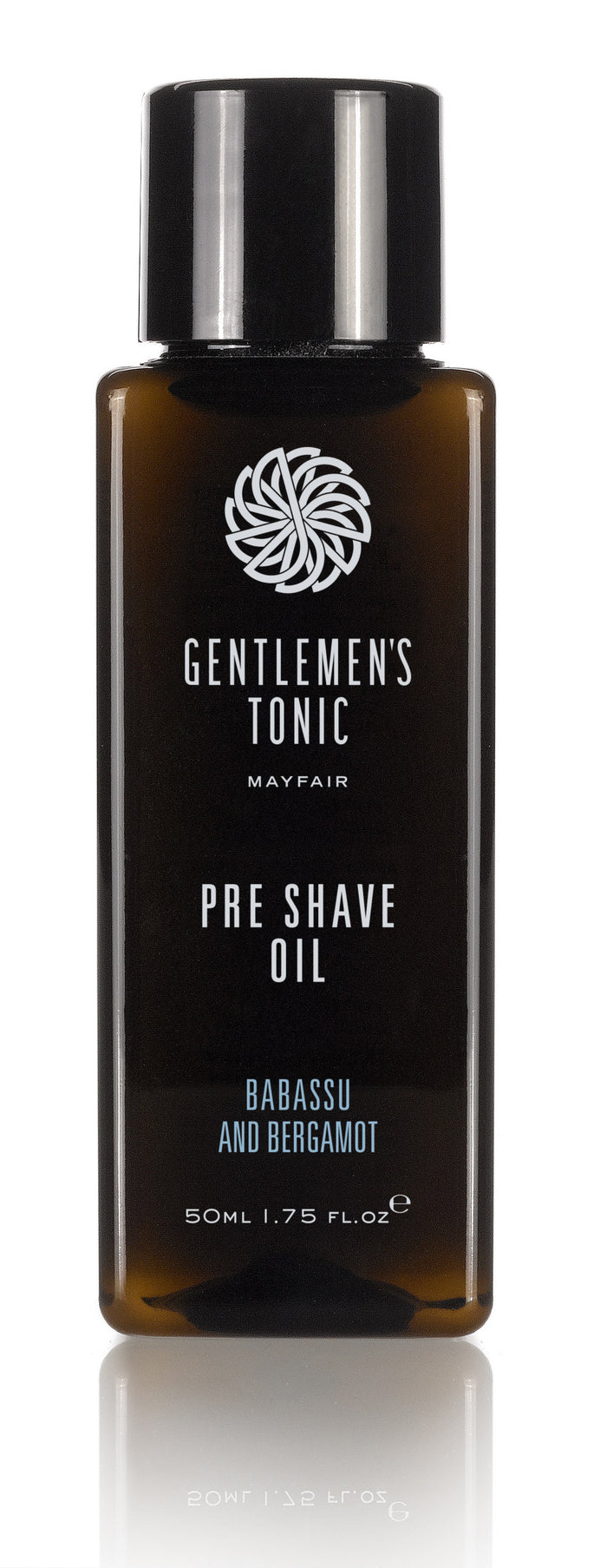 GENTLEMEN'S TONIC PRE SHAVE OIL 50ML
