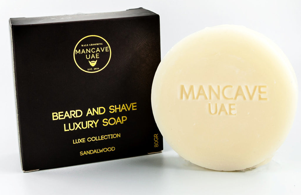 MANCAVE UAE BEARD & SHAVE LUXURY SOAP