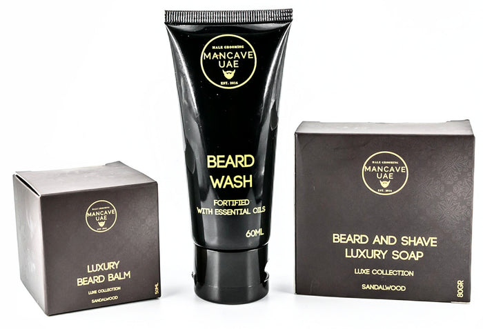 MANCAVE UAE BEARD MAINTENANCE KIT