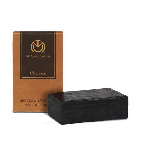 CHARCOAL SOAP BAR | FACE & BODY - THE MAN COMPANY