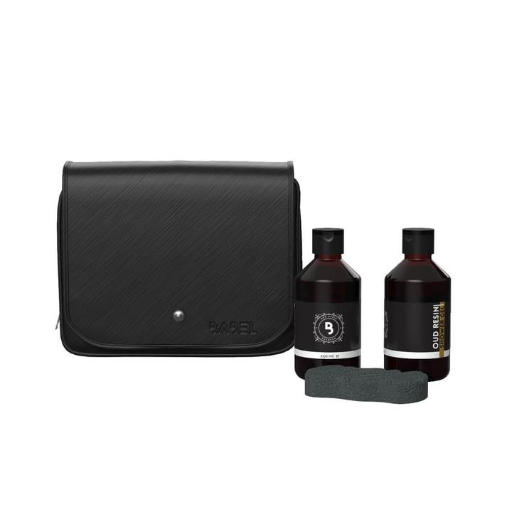 """WHITE BOX"" SHOWER KIT - HAIR & BODY"