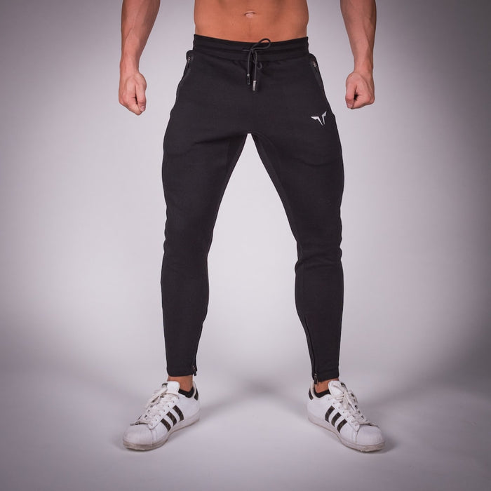SQUAT WOLF GYM JOGGER PANTS - BLACK