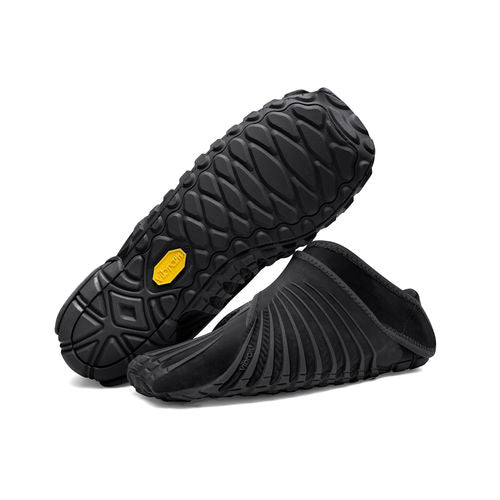 VIBRAM FUROSHIKI WRAP SHOES - BLACK