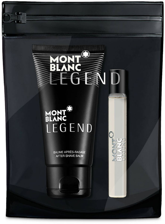 MONT BLANC LEGEND TRAVEL KIT- EAU DE TOILETTE  & SHOWER GEL