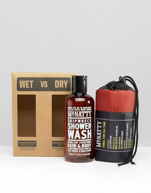MR NATTY WET AND DRY GIFT SET