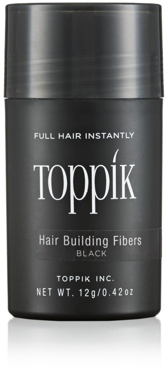 TOPPIK HAIR BUILDING FIBERS - BLACK