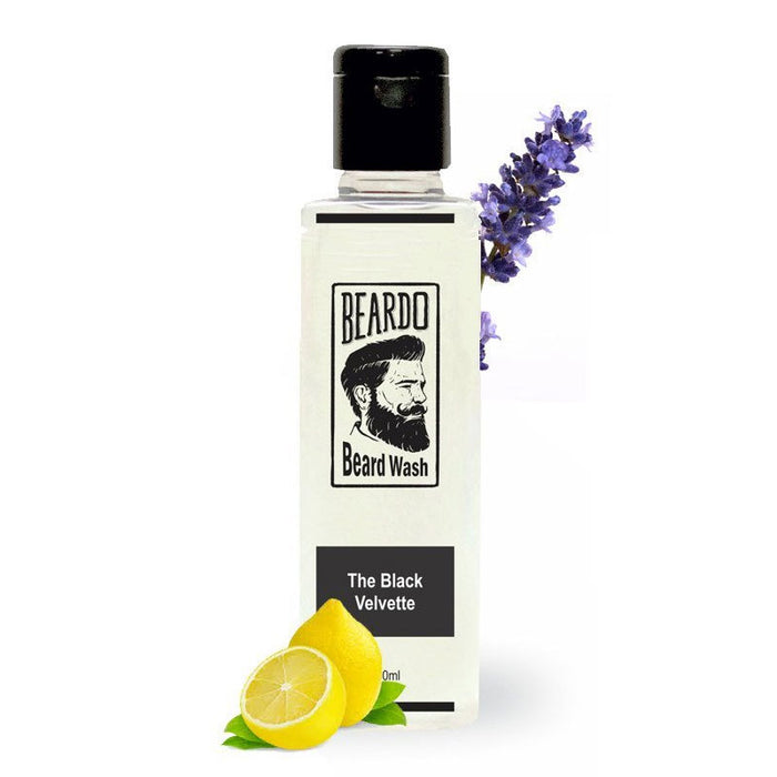 BEARDO BLACK VELVETTE BEARD WASH
