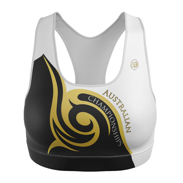 Australian 50th Anniversary 2017 Deluxe  Ladies CropTop - CLOSED - Some available to purchase at event.