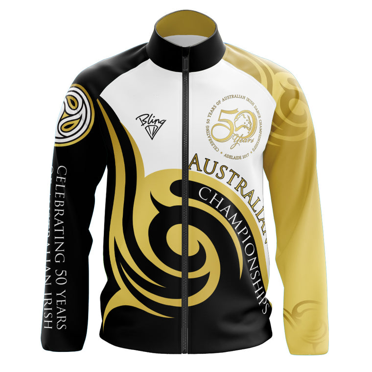 Australian 50th Anniversary Deluxe Track Top (Boys/Mens) - CLOSED - Some available to purchase at event.