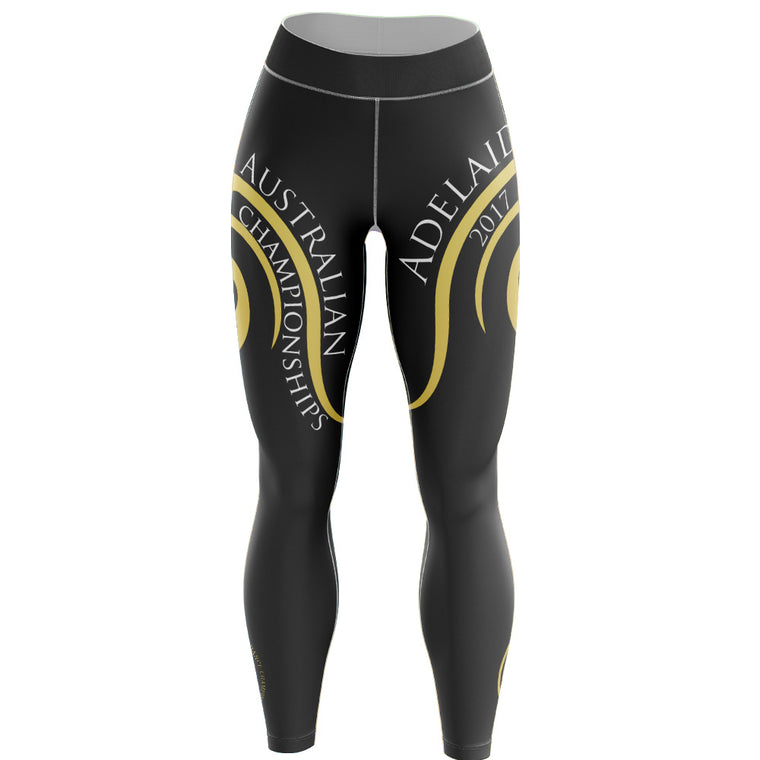 Australian 50th Anniversary Deluxe Capri Length Leggings ***LAST CHANCE TO ORDER***