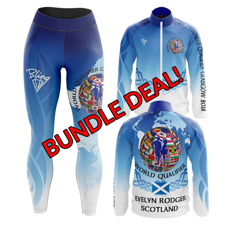 World Qualifier Glasgow 2018 BUNDLE Girls/Ladies