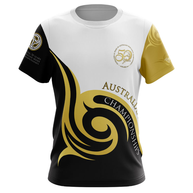 Australian 50th Anniversary 2017 Deluxe  Ladies Fitted T-shirt ***LAST CHANCE TO ORDER***